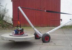 Løftevogn til dæksel fra Asp produkt
